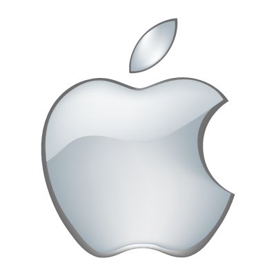 Apple 3D vector logo