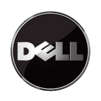 Dell 3D logo vector