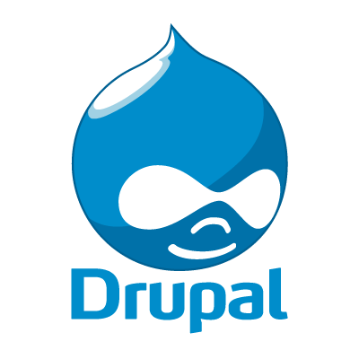Drupal logo vector