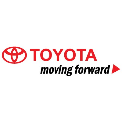 Toyota Moving forward logo vector in .AI format