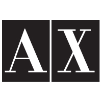 A X Armani Exchange logo vector in .EPS format