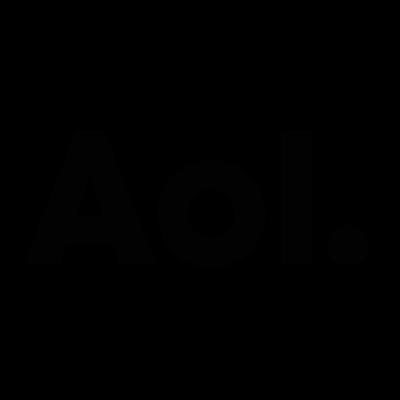 AOL logo vector