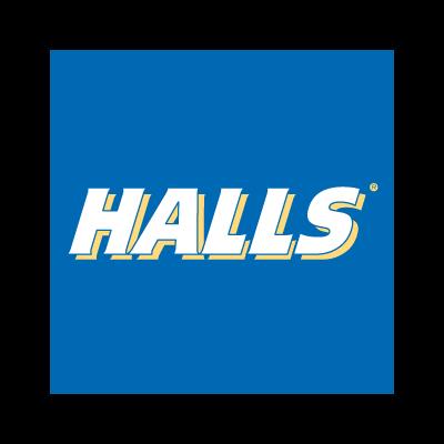 Halls vector logo