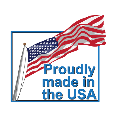 Proudly made in the USA symbol vector