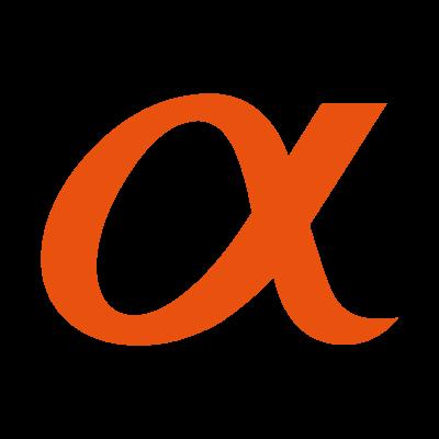Sony Alpha vector logo