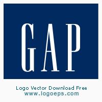 Gap logo vector