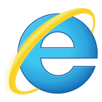 Internet Explorer 9 logo vector
