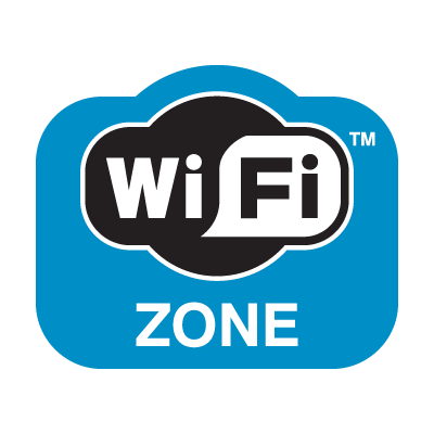 WiFi Zone logo vector