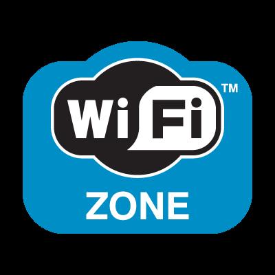 WiFi Zone logo vector