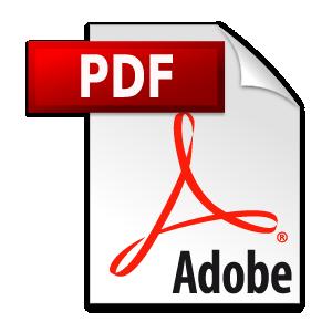 Adobe PDF icon vector