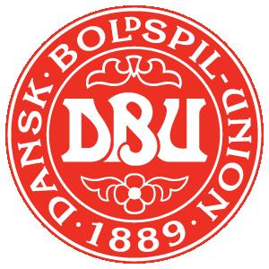 Denmark football logo vector
