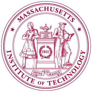 MIT university logo vector