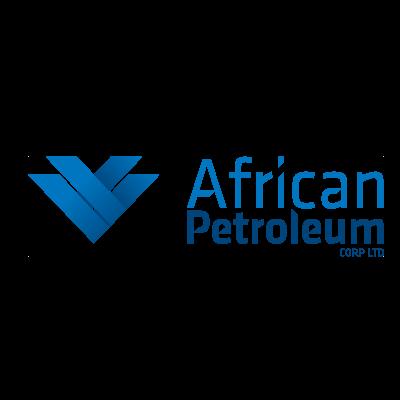 African petroleum vector logo