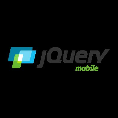JQuery Mobile logo vector