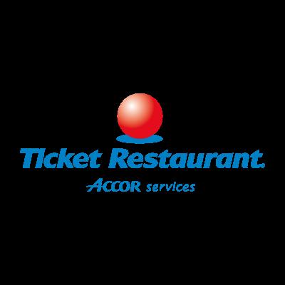 Ticket Restaurant vector logo