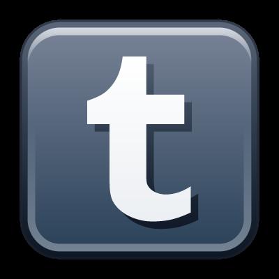 Tumblr icon vector, Tumblr button vector