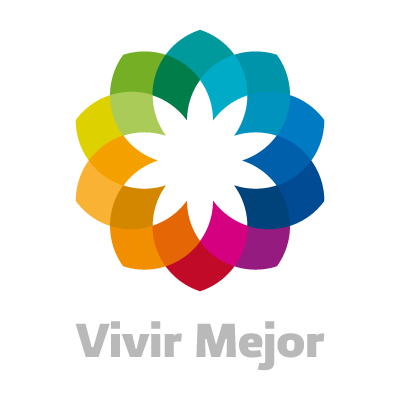 Vivir Mejor Cuadro vector logo