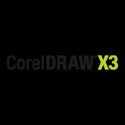 Corel Draw X3 vector logo