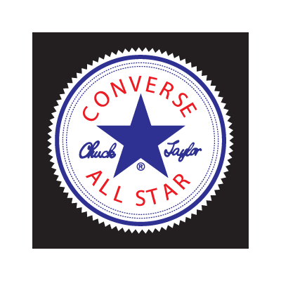 Converse All Star logo vector