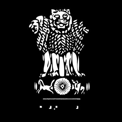Emblem of India logo vector