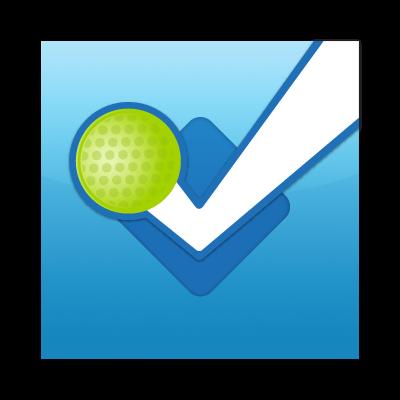 Foursquare button vector