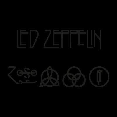 Led Zeppelin vector logo