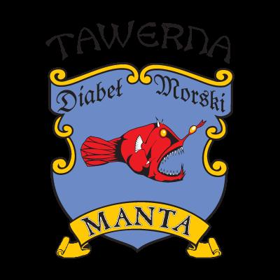 Manta logo vector