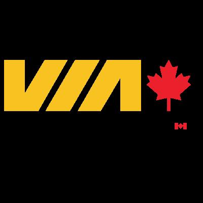 VIA Rail Canada logo vector