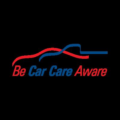 Be Car Care Aware logo vector