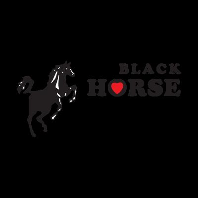 Black Horse logo vector
