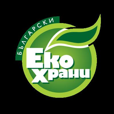 Bulgarian Eco Food logo vector
