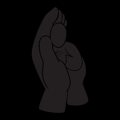 Child In Hand logo vector