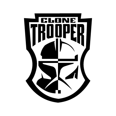 Clone Trooper logo vector