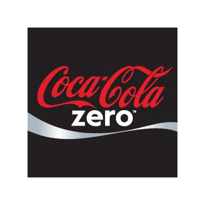 Coca-Cola Zero logo vector