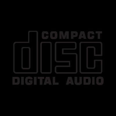Compact Disc CD logo vector