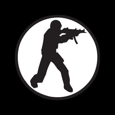 Counter-Strike logo vector