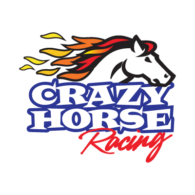 Crazy Horse Racing logo vector