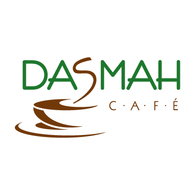 Dasmah Cafe logo vector