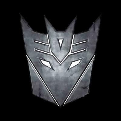 Decepticon from Transformers logo vector