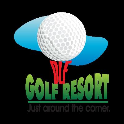 DLF Golf Resort logo vector