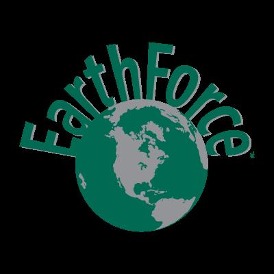 Earth Force logo vector
