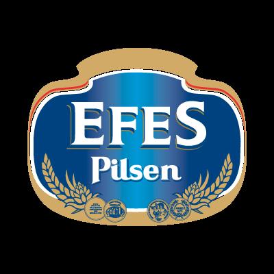 Efes pilsen beer logo vector