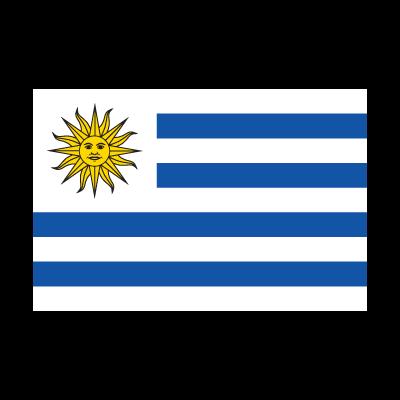 Flag of Bandera de Uruguay logo vector