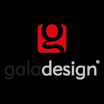 Gala design logo vector