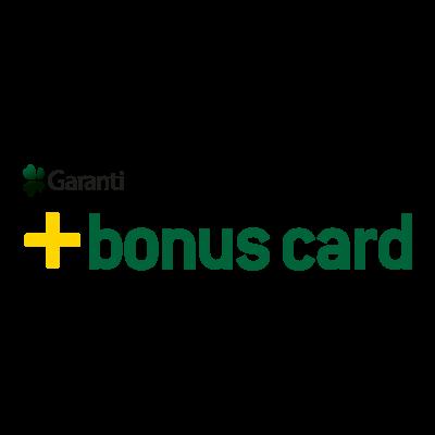 Garanti Bonus Card logo vector