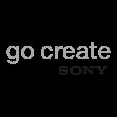 Go Create Sony logo vector