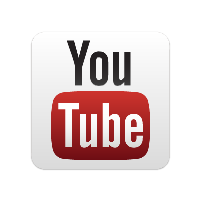New YouTube button vector