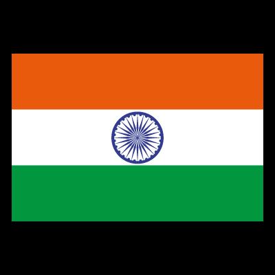 Flag of Indian vector logo