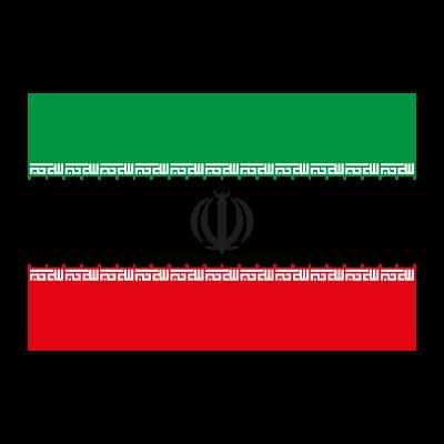 Flag of Iran vector logo