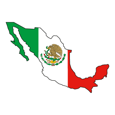Flag of Mexico vector logo